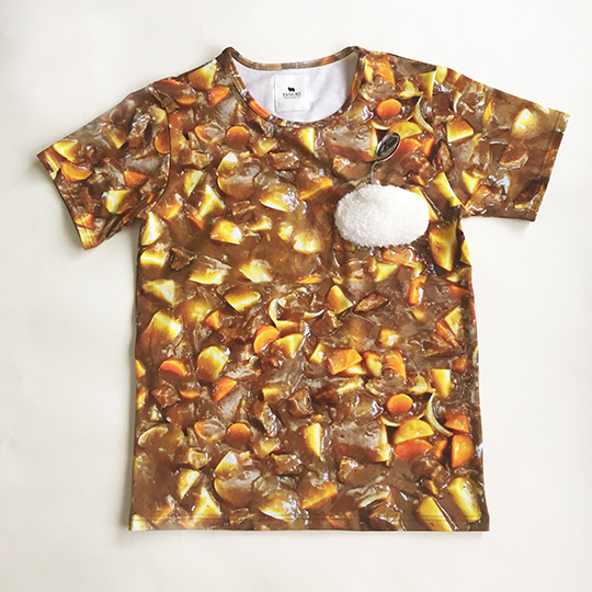 サイキック・カレー(Tシャツ)
